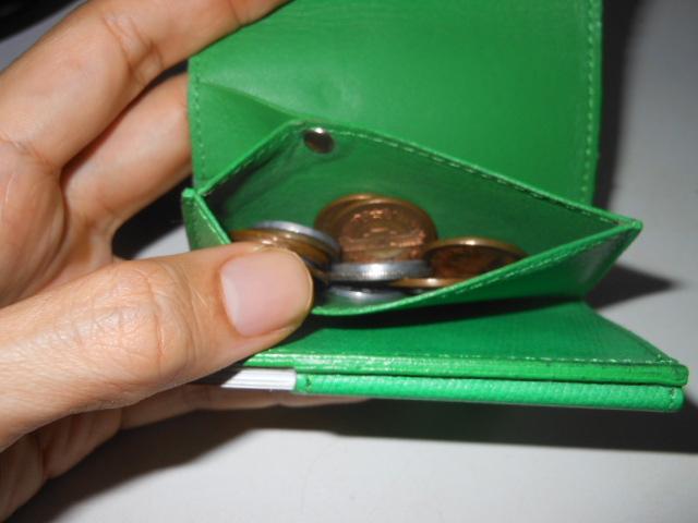 アブラサス財布コイン