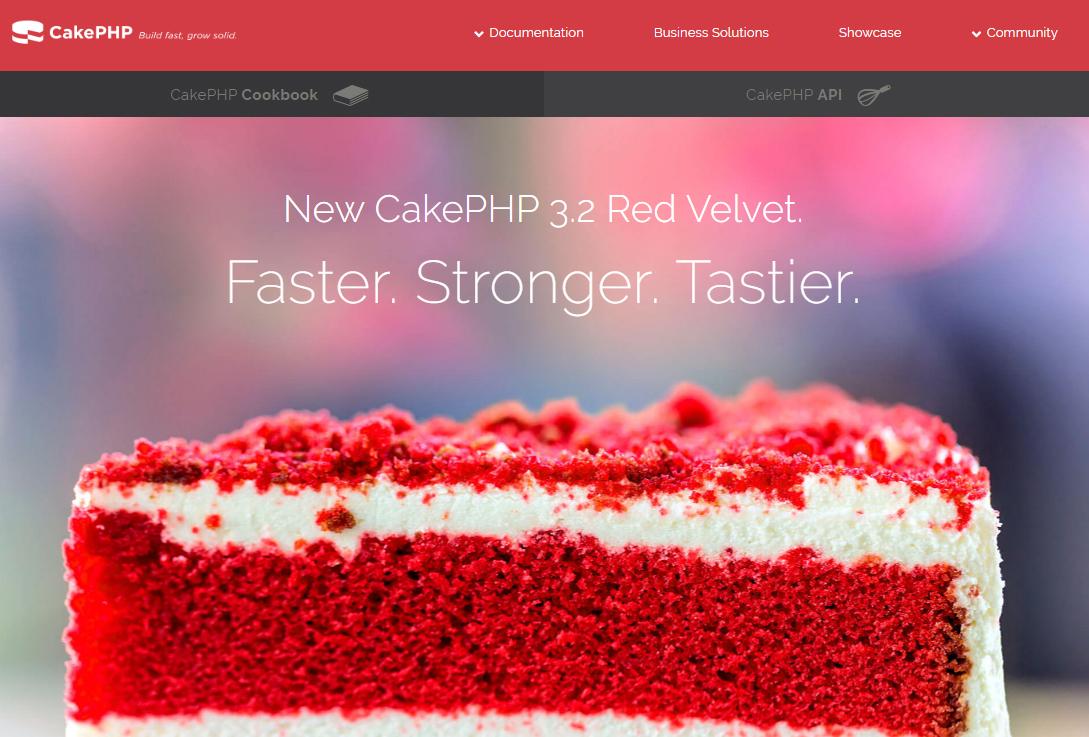 cakephp3の公式ページの配色がきつい