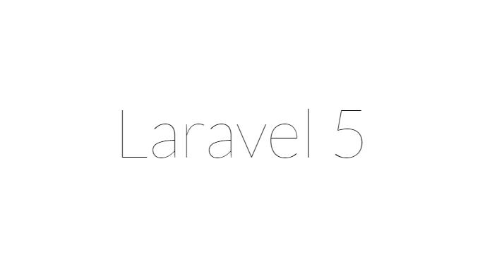 laravel5のテストページ