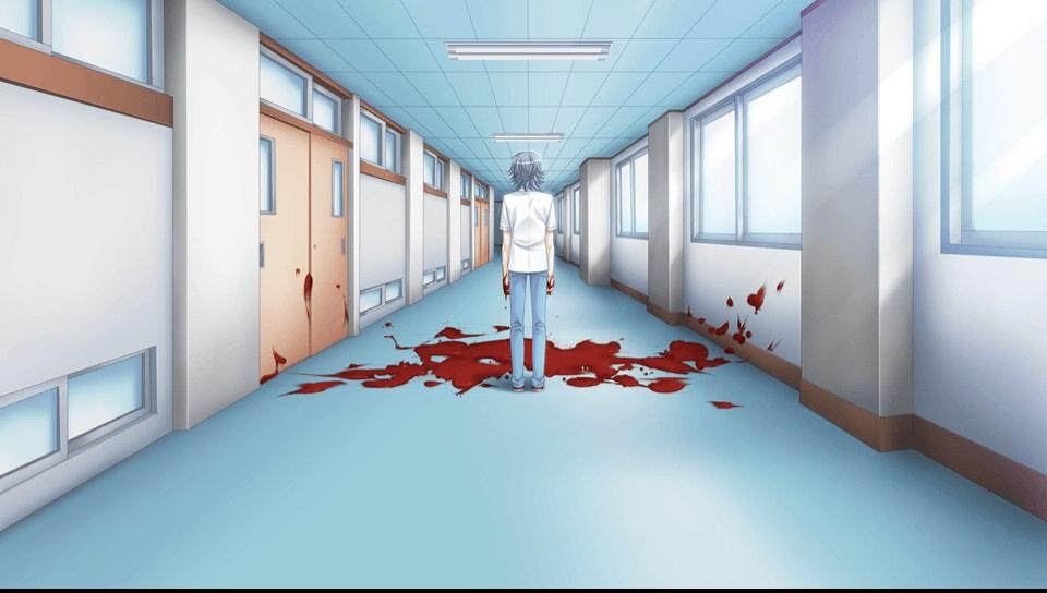 廊下の血におかしくなる太一